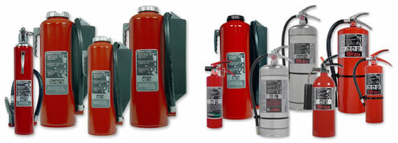 Ansul fire extinguisher group
