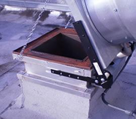 kitchen exhaust fan hinge