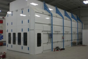 Used Paint Booth Fire Suppression System