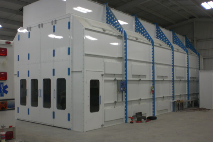 paint booth fire suppression