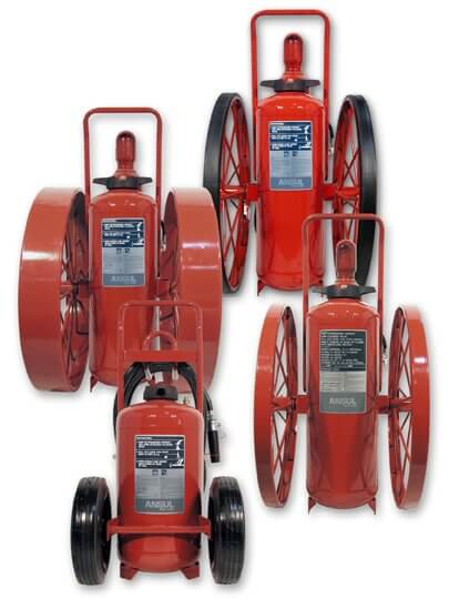 ansul wheeled fire extinguishers