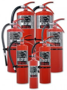 Sentry fire extinguisher group