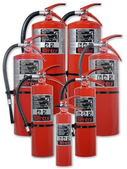ansul fire extinguishers