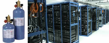 server room and clean agent system