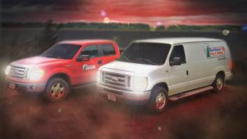 Northland Fire service trucks